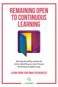 16 – Remaining Open to Continuous Learning-min