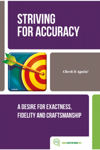 6 – Striving for Accuracy-min