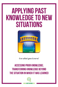 8 – Applying Past Knowledge to New Situations-min